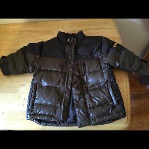 Beautiful Baby Gap brown puffer coat 12-18 mo